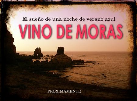 Cartel Vino de moras
